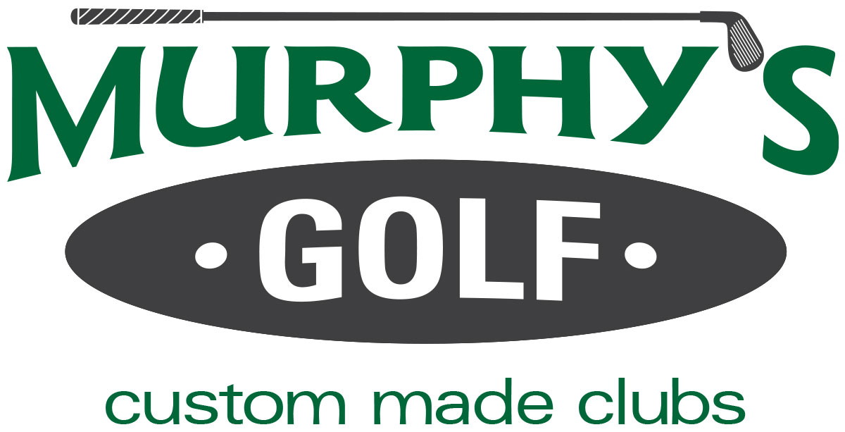Brand development and logo design for Murphy's Custom Made Golf Clubs.
