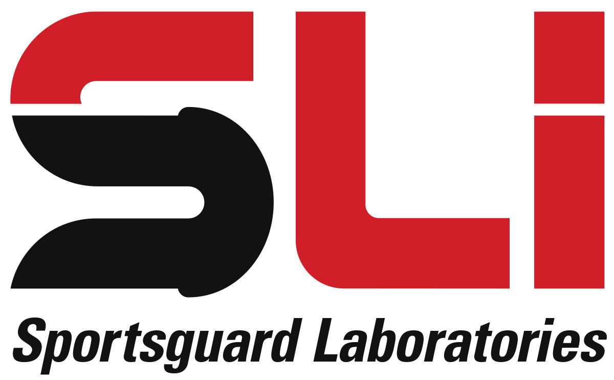 Brand development and logo design for Sportsguard Laboratories.